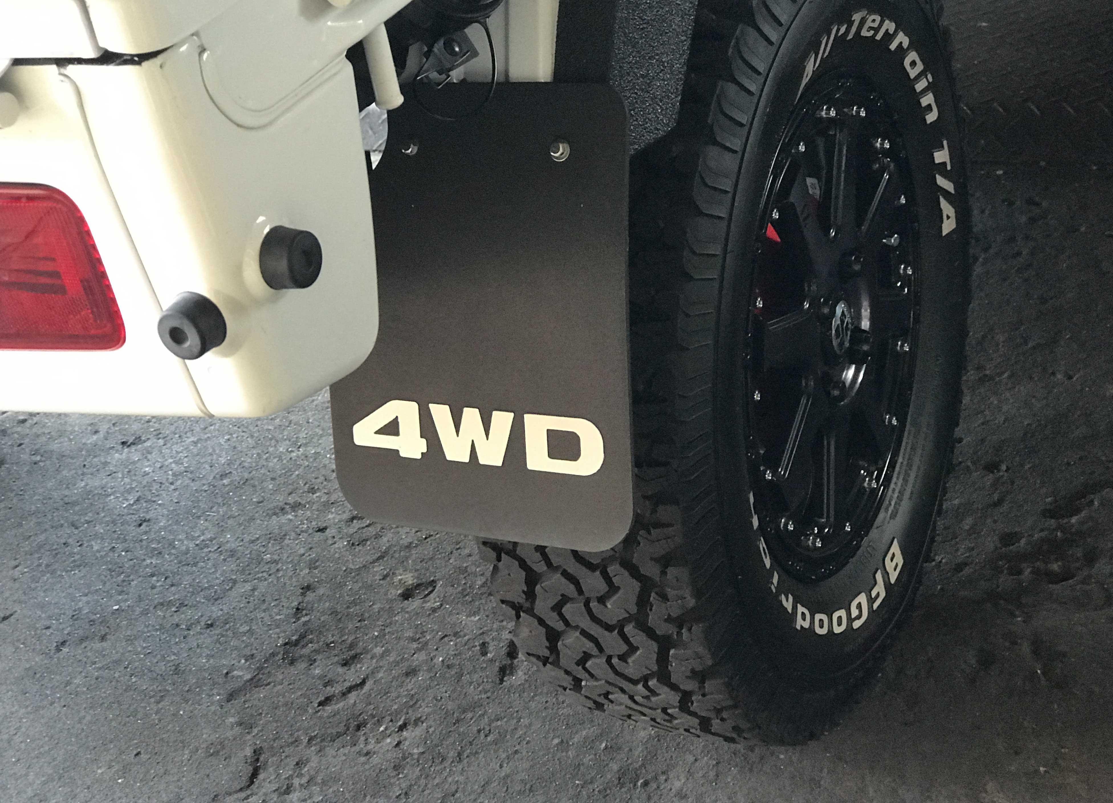4WD マットガード