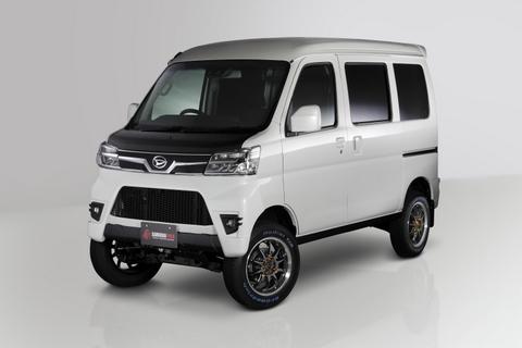 【HIJET】300系カーゴ・デッキバン用 フロントエアロバンパー